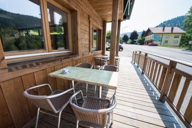agencement extérieur terrasse bois